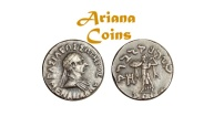 Ancient Coins - Indo-Greek Kingdom. Menander I Soter. Circa 155-130 BC. AR Drachm. Superb