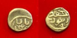 Ancient Coins - Islamic, Great Mongols, Chingiz Khan. AH 602-624 / AD 1206-1227. AE Jital. RR