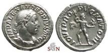 Ancient Coins - Severus Alexander Denarius - IOVI PROPVGNATORI - RIC 239