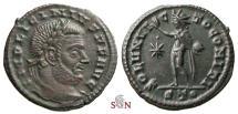 Ancient Coins - Licinius Follis - SOLI INVICTO COMITI - RIC 17
