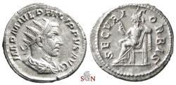 Ancient Coins - Philippus I Antoninianus - SECVRIT ORBIS - RIC 48a