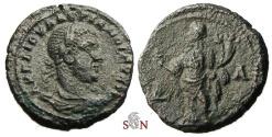 Ancient Coins - Valerianus I. Billon Tetradrachm - Egypt, Alexandria - Homonoia stg. left