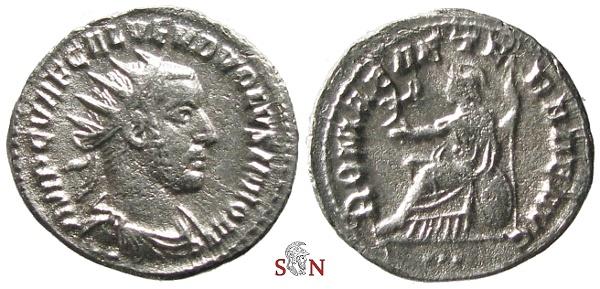 Ancient Coins - Volusianus Antoninianus - ROMAE AETERNAE AVG - RIC 234 a