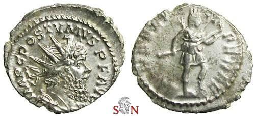 Ancient Coins - Postumus Antoninianus - DIANAE LUCIFERAE - Elmer 396