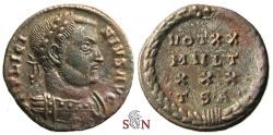 Ancient Coins - Licinius I. Follis - VOT XX MVLT XXX - Thessalonica mint - RIC 33