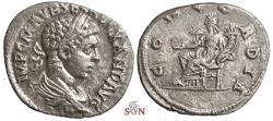 Ancient Coins - Severus Alexander Denarius - CONCORDIA - Antioch mint - RIC 275c