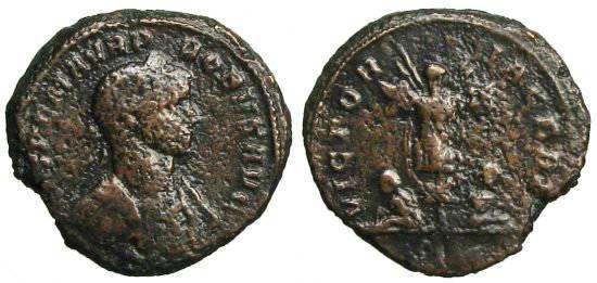 Ancient Coins - Probus As - VICTORIA GERM - RIC 300