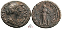 Ancient Coins - Faustina II. As - FECVND AVGVSTAE - RIC 1636