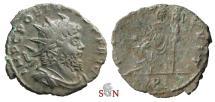 Ancient Coins - Pamphill Hoard (UK) - Postumus Antoninianus - struck under Aureolus -  FIDES EQVIT / P - AGK 18b