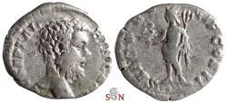 Ancient Coins - Clodius Albinus Denarius - SAEC FRVGIF COS II - RIC 8 - Very Rare