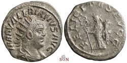 Ancient Coins - Valerianus Antoninianus - FELICITAS AVGG - Antioch - RIC 283