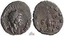 Ancient Coins - Quintillus Antoninianus - LAETITIA AVG - RIC 22