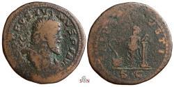 Ancient Coins - Postumus Sestertius - SALVS AVGVSTI - Aesculapius - Bastien 17 - Very Rare