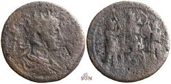 Ancient Coins - Gordian III. - Cilicia, Seleucia ad Calycadnum - infant Zeus with 3 Curetes - RPC 7040