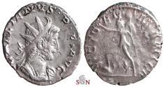 Ancient Coins - Gallienus Antoninianus - VICT GERMANICA - RIC 44