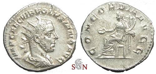 Ancient Coins - Volusianus Antoninianus - CONCORDIA AVGG - RIC 168