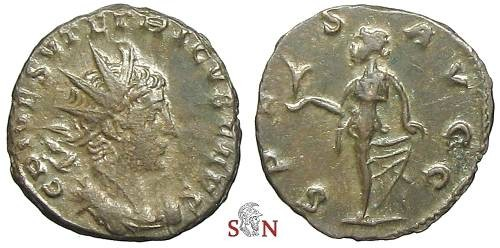 Ancient Coins - Tetricus II Antoninianus - SPES AVGG - Elmer 796