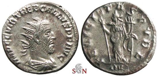 Ancient Coins - Trebonianus Gallus Antoninianus - FELICITAS PVBL - RIC 82