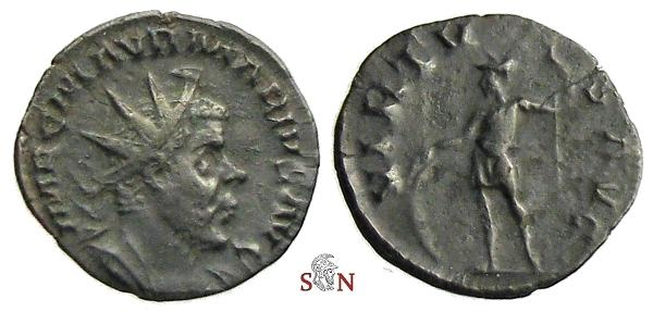 Ancient Coins - Marius Antoninianus - VIRTVS AVG - Elmer 640