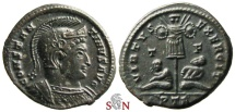 Ancient Coins - Constantinus I. the Great Follis - VIRTVS EXERCIT - Trier mint