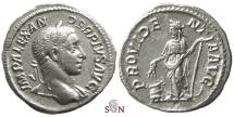 Ancient Coins - Severus Alexander Denarius - PROVIDENTIA AVG - Providentia stg left - RIC 250
