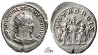 Ancient Coins - Valerianus I. Antoninanus - VOTA ORBIS - RIC 294