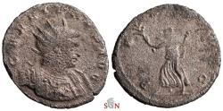 Ancient Coins - Gallienus Antoninianus - PAX AVG - Decorated Cuirass - Extremely Rare - not in Goebl and RIC