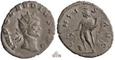 Ancient Coins - Claudius II Gothicus Antoninianus - GENIVSAVG - RIC 46