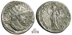 Ancient Coins - Postumus Antoninianus - FELICITAS AVG - Elmer 335