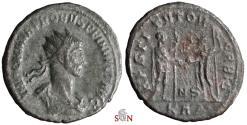 Ancient Coins - Probus Antoninianus - IMP C M AVR PROBVS P F INVICT AVG obv. legend - RIC 858 var.