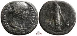 Ancient Coins - Faustina II. AE As - Diana - RIC 1405 a