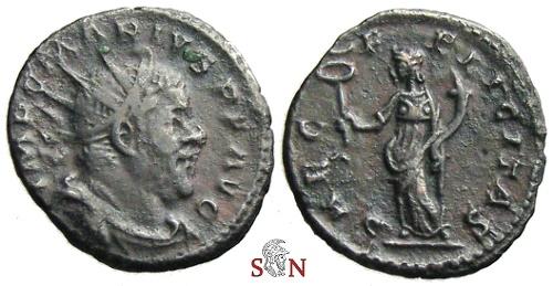 Ancient Coins - Marius Antoninianus - SAEC FELICITAS - Elmer 634