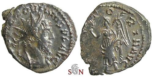 Ancient Coins - Victorinus Antoninianus - Victory standing left - AGK 29x