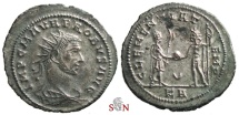 Ancient Coins - Probus Antoninianus - CLEMENTIA TEMP - Tripolis mint - RIC 928