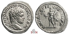 Ancient Coins - Caracalla Denarius - Hercules holding club and branch - RIC 239