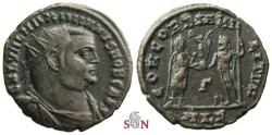 Ancient Coins - Galerius post-reform radiate - CONCORDIA MILITVM - Alexandria mint - RIC 48b