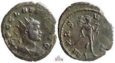 Ancient Coins - Claudius II Gothicus Antoninianus - MARS VLTOR -  RIC 66
