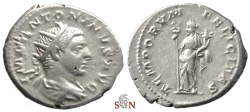 Ancient Coins - Elagabalus Antoninianus - TEMPORVM FELICITAS - RIC 149