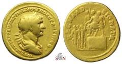 Ancient Coins - Trajanus Aureus - REGNA AD SIGNATA - very rare