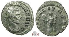 Ancient Coins - Claudius II Gothicus Antoninianus - LIBERALITAS AVG - RIC 57