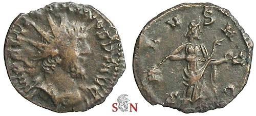 Ancient Coins - Victorinus Antoninianus - SALVS AVG - Elmer 732
