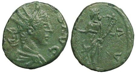 Ancient Coins - Tetricus II as Augustus Antoninianus - extremely rare