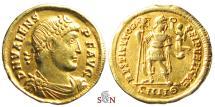 Ancient Coins - Valens Solidus - RESTITVTOR REIPVBLICAE - RIC 2d