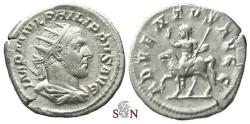 Ancient Coins - Philippus I. Antoninianus - ADVENTVS AVG - RIC 26b