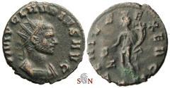 Ancient Coins - Claudius II Gothicus Antoninianus - GENIVS EXERCI - RIC 49