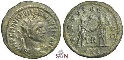 Ancient Coins - Numerianus Antoninianus - VIRTVS AVGG - RIC 470 - Rare - Tripolis mint