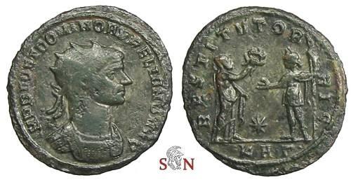 Ancient Coins - Aurelianus Antoninianus - IMP DEO ET DOMINO AVRELIANO AVG - RIC 305