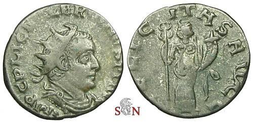 Ancient Coins - Valerianus Antoninianus - FELICITAS AVGG - RIC 87