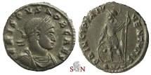 Ancient Coins - Crispus Caesar Follis - PRINCIPIA IVVENTVTIS - RIC 162