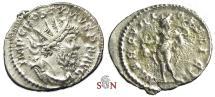 Ancient Coins - Postumus Antoninianus - MERCVRIO FELICI - Elmer 413 - scarce